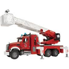 Fire Truck Bruder Mack Granite, Bruder Trucks | Trucks Accessories ...