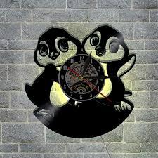 yun clock wanduhr vinyl schallplattenuhr 3d design uhr wand