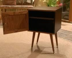 Ikea Trysil Dresser Hack by Expedit Leftover Become Mid Century Style Bedside Table Ikea