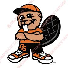 Oregon State Beavers Customize Temporary Tattoos Stickers NO5806