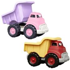 100 Pink Dump Truck Green Toys With No Metal Axles Construction Vehicle BPA