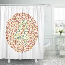 quickdates duschvorhang wasserdicht bad wohnkultur blindheit