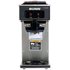 Bunn Coffee Maker Commercial Combined With Cup Brewer To Frame Stunning 3 Burner Makers 873