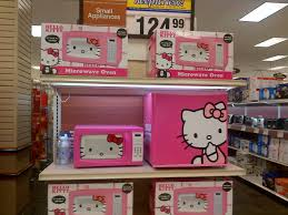 Hello Kitty Bathroom Set At Target hello kitty small appliances microwave and personal refrigerator