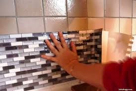 carrelage adhesif leroy merlin cuisine revetement mural adhesif