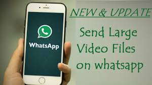 How To Send Video Files Through Whatsapp
