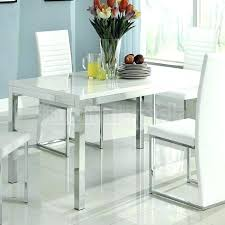 White Quartz Dining Table Room