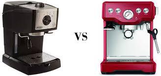 Semi Automatic Vs Espresso Machines