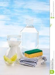 décapants organiques bicarbonate au vinaigre blanc de citron et