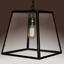 Overstock Tiffany Floor Lamps by The Minerva Single Light Edison Lamp Is A Unique Square Shaped