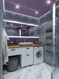 3d visualisierung lila badezimmer loft 3dlancer net