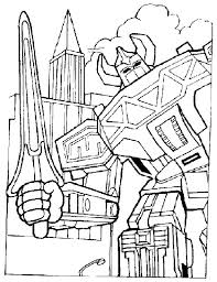 Power Rangers Coloring Pages 91