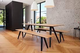 bank und tisch klappbar für innen und außen aus massivholz