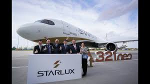100 Star Lux Taiwans Lux Receives Its First Airbus Aircraft Ahead