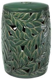 casa padrino keramik deko trommel grün ø 34 x h 48 cm luxus wohnzimmer dekoration
