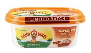 Pumpkin Pie Frappuccino Starbucks by Land O U0027lakes Pumpkin Pie Spice Butter Spread Simplemost