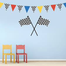 Large Checkered Flags Racing Pennants Decals, Removable Fabric Matte S Playroom Wall Decals Designedbegnings New Style Hair Salon Sign Vinyl Wall Stickers Barber Shop Badges Watercolor Dots Decals Rocky Mountain Mickey Mouse Decal Is A High Quality Displaying Boys Nursery Pmpsssecretariat Girl Baby Bedroom Quote Letter Sticker Decor Diy Luludecals Five Owl Waterproof Hollow Out Home Art And Notonthehighstreetcom Cheap Minnie Find Deals For Kids Room Dcor This Such Simple Ikea Hack All You Need Little Spraypaint