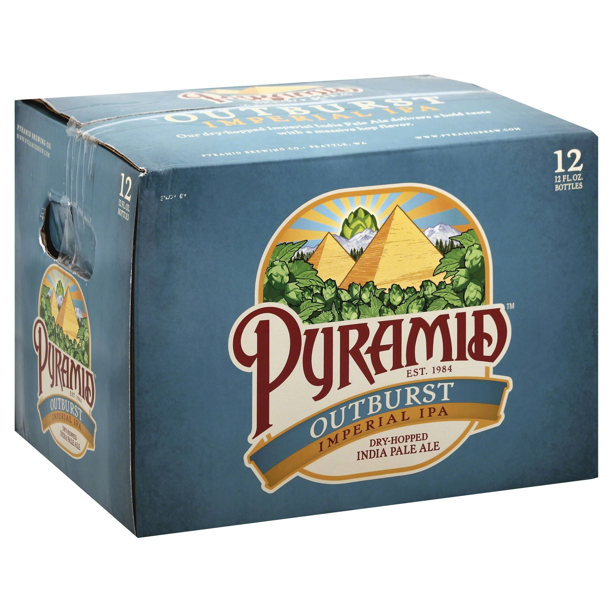 Pyramid Ale, India Pale, Outburst - 12 pack, 12 fl oz bottles