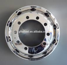 100 Heavy Duty Truck Wheels Rims Aluminum Loading Weight 4500kg Pcd