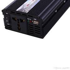 100 Power Inverters For Trucks 2019 Car 2000W DC 12V To AC 220V Car Vehicle USB
