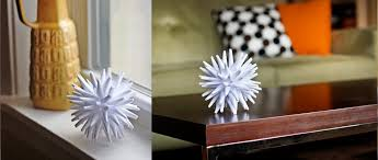 Paper Craft 3D Icicle Balls