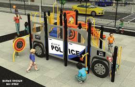 100 Police Truck Tab Car Themed Playground Cop Car Playground