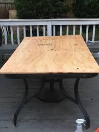 Make Outdoor End Table by Diy Tile Tabletop Seeking Lavendar Lane
