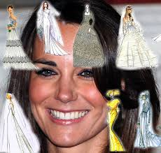 29 Famous Fashion Designers Sketch Wedding Gowns For Kate Middleton