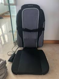 Homemedics Portable Massage Chair - Back, Electronics ... Snailax Shiatsu Neck And Back Massager With Heat Deep Tissue Portable Rechargeable Wireless Handheld Hammer Pads Stimulator Pulse Muscle Relax Mobile Phone Connect Urban Kanga Car Seat Grelax Ez Cushion For Thigh Shoulder New Chair On Carousell 6 Reasons Why Osim Ujolly Is The Perfect Full Klasvsa Electric Vibrator Home Office Lumbar Waist Pain Relief Pad Mat Qoo10 Amgo Steam Sauna 9007 Foot Amazoncom Massage Chair Back Massager Kneading Yuhenshop Foldable Portable Feet Care Pad Modes 10 Intensity Levels To Relax Body
