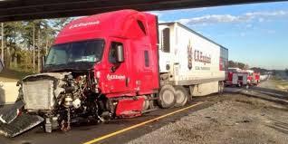 100 Cr Trucking Semitruck Accident Causes Major Morning Traffic Delays