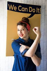 Rosie The Riveter Halloween Tutorial by How To Tie A Headscarf 1940s Style Headscarves Rosie The