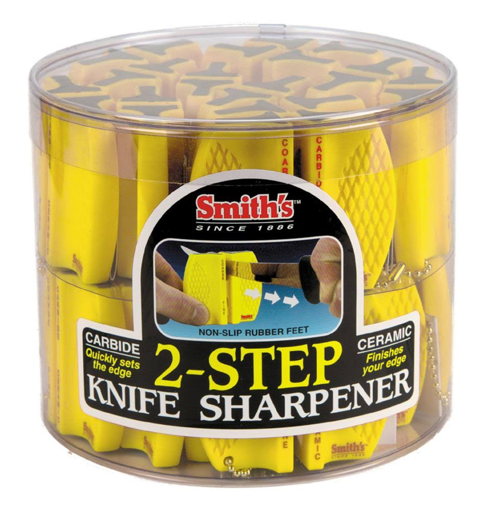 Smith Abrasives 2-Step Knife Sharpener