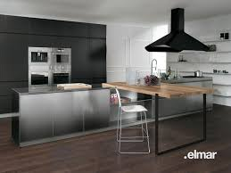 cuisines inox la cuisine bois et inox d elmar inspiration cuisine