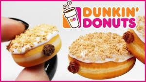 Pumpkin Dunkin Donuts by Polymer Clay Pumpkin Pie Donut Tutorial Polymer Clay Food Youtube