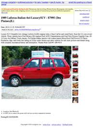 For $7,995, Is This Laforza To Be Reckoned With? Chicago Craigslist Illinois Used Cars Online Help For Trucks And Vehicle Shipping Scam Ads On Craigslist Update 022314 Fniture Awesome Phoenix Az Owner Stolen 1983 Hurst Olds Gbodyforum 7888 General Green Bay Wisconsin Minivans For 23000 Who Needs Swag When You Have Lincoln Style 19000 Win The Quattro Lotto Auto Parts Best Image Dinarisorg And By 2018