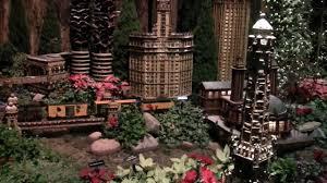 Thomas Kinkade Christmas Tree Wonderland Express by Visitors Enjoy Wonderland Express Youtube