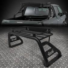 100 Truck Roll Bars FOR 0718 SILVERADOSIERRARAM TRUCKS BLACK HEAVY DUTY ROLL BARROOF