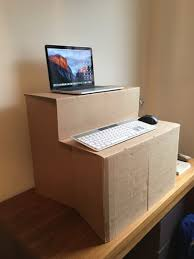 Standing Desk Top Extender Riser by Portable Desk Riser Desk Riser Comfortable In Sitting Or