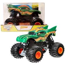 100 Hot Wheels Monster Truck Toys Jam Dragon Vehicle 124 Scale