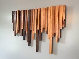 41 Oak Wall Art Wooden Wood Decor Modern