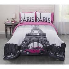 Casa Real Paris Eiffel Tower Bed in a Bag Bedding Set Twin