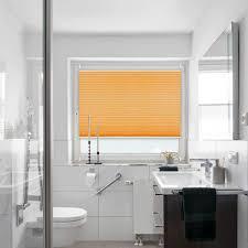 orange seitenzugrollo faltrollo plisseerollo sonnenschutz