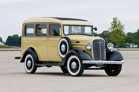 It All Started In 1933. Chevrolet Designed A