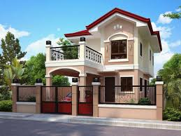 100 Houses Desings Two Storey Homes Plans Designs Story Small Design