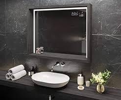 artforma spiegel mit led beleuchtung 50x70 cm mit ablage und