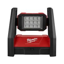 Milwaukee M18 18 Volt Lithium Ion Cordless 3000 Lumen ROVER LED AC