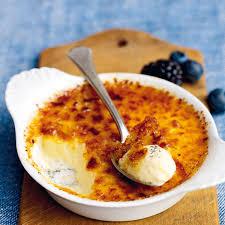 crème brûlée mit vanille und zimt