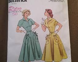 Butterick B6055 Retro 50s Dress Pattern