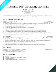 Sample Resume For Clerical Administrative A Office Administration Curriculum Vitae