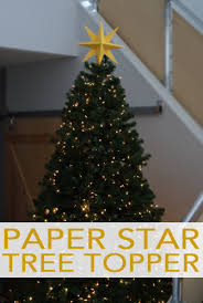101 Days Of Christmas Paper Star Tree Topper